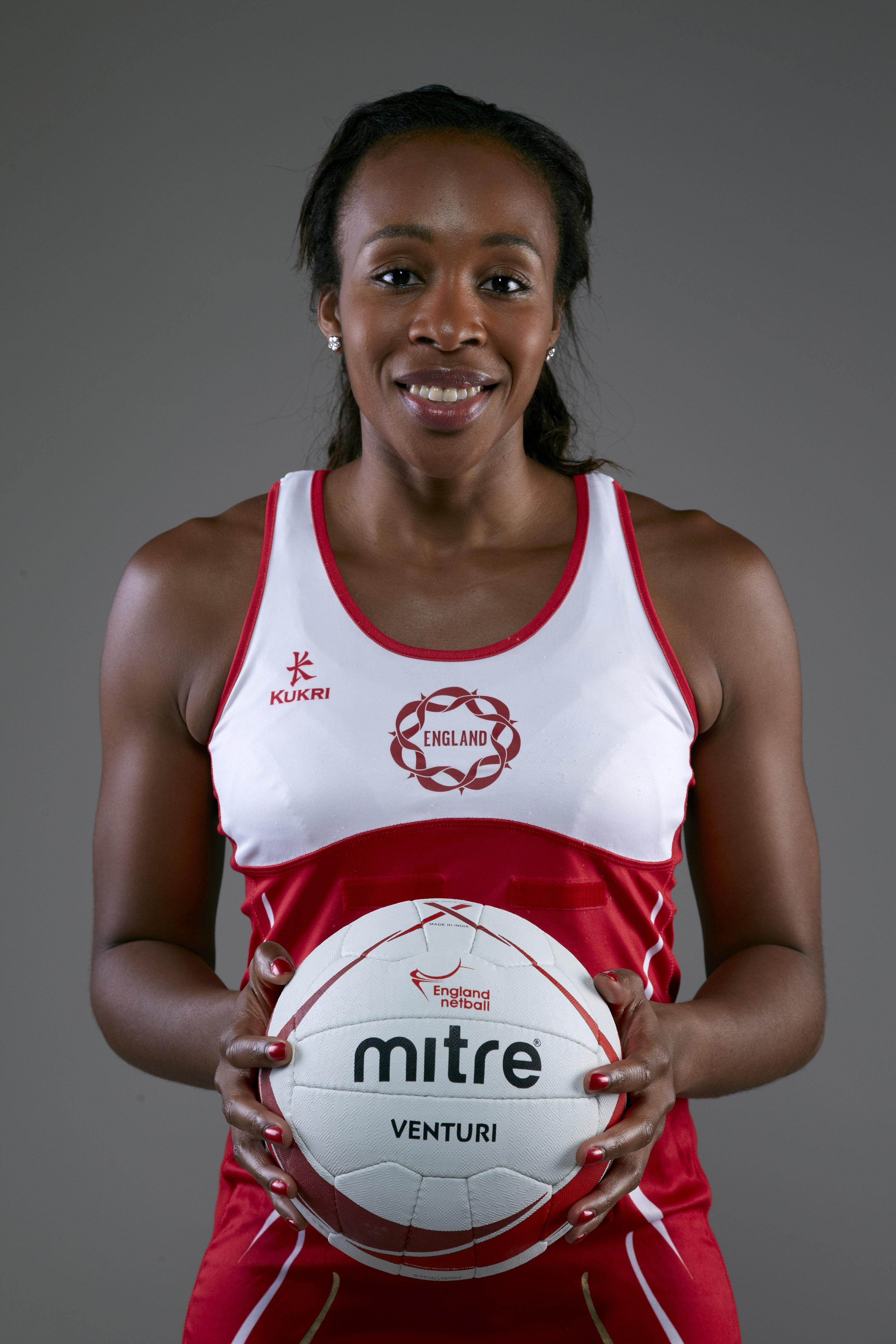 Pamela Cookey of England Netball.