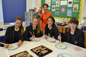 St Mary's students of Japanese
