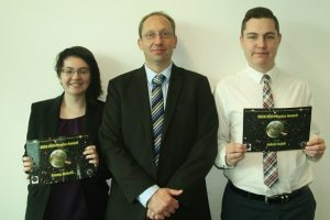 Emma Holwill, Jacob Sujak and Andy Phillips - EED Physics Award
